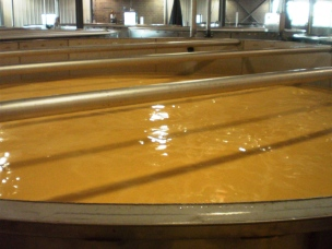 Emptying Mash Tank