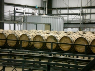 Bourbon Barrels Waiting to be filled