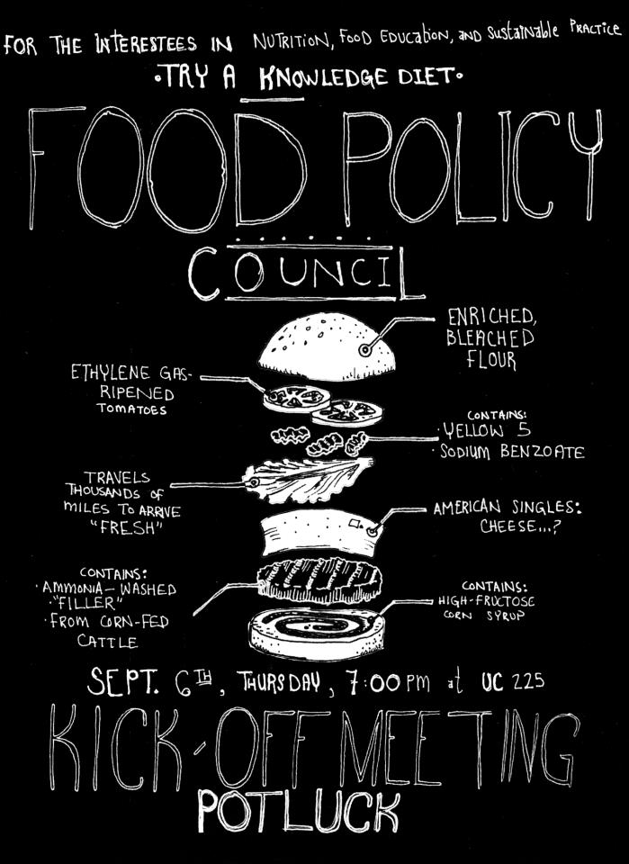 food policy flyer