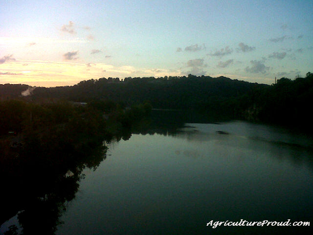 tennessee river sunrise