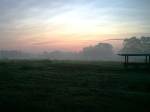 ranch sunrise