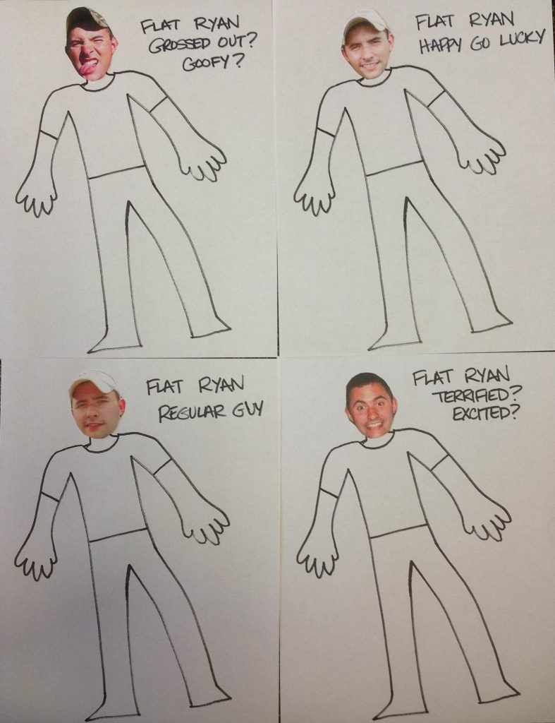various Flat Ryan expressions