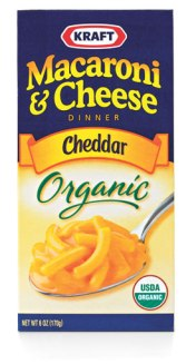 organic junk food macaroni and cheese