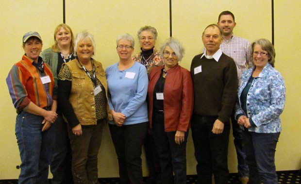 Montana ranchers attending the AgChat Foundation social media training in Portland