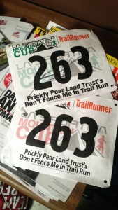 Turns out I had the same bib number for this race two years in a row!