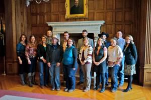 leadership series group photo