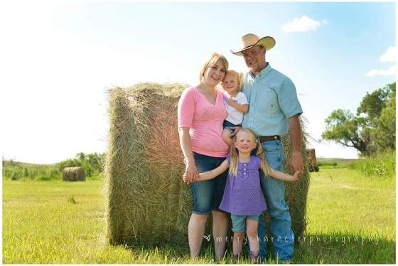 am Agriculture Proud: to raise another generation of kids to carry on our ranching heritage, and because there is nothing like knowing your hard work actually accomplishes something at the end of the day. - Richelle Barrett, Havre, Montana
