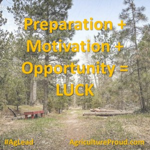 Preparation Motivation Opportunity Luck