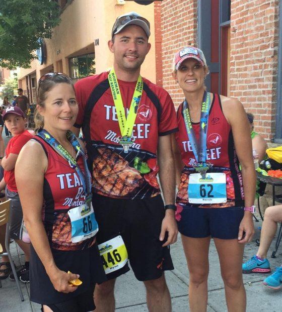 Team Beef Montana Bozeman Marathon