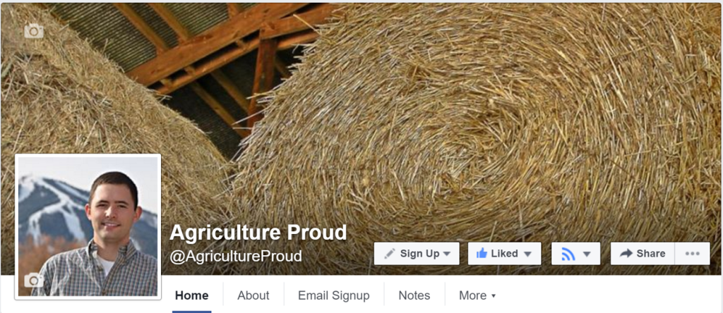 Bonus Tip: Want to make sure you don't miss posts from your favorite pages (like Agriculture Proud)? Click the icon with three lines that looks like a WiFi signal or RSS feed and change the settings to 'See First' so posts will always appear in your News Feed.