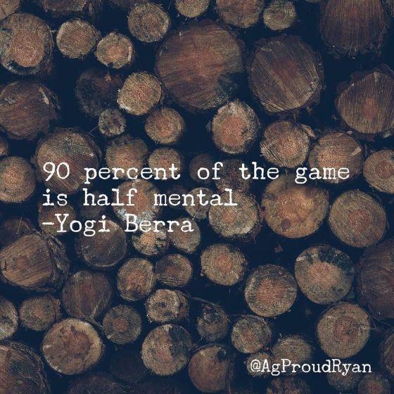 Yogi Berra Game Half Mental