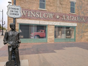 Standin on the corner in Winslow Arizona